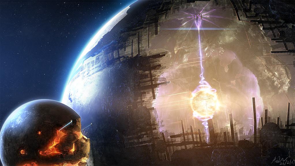 Dyson sphere illustration