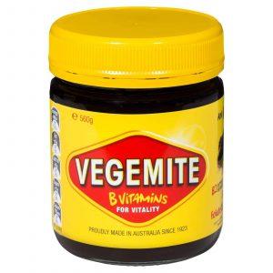 Picture of jar of Vegemite spread